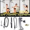 Ролик для фитнеса DIY, кабельный тренажер, тренажер с насадками для шкива, бицепс, трицепс, для тренировки, для подтяжки ушей, защита для запяс...