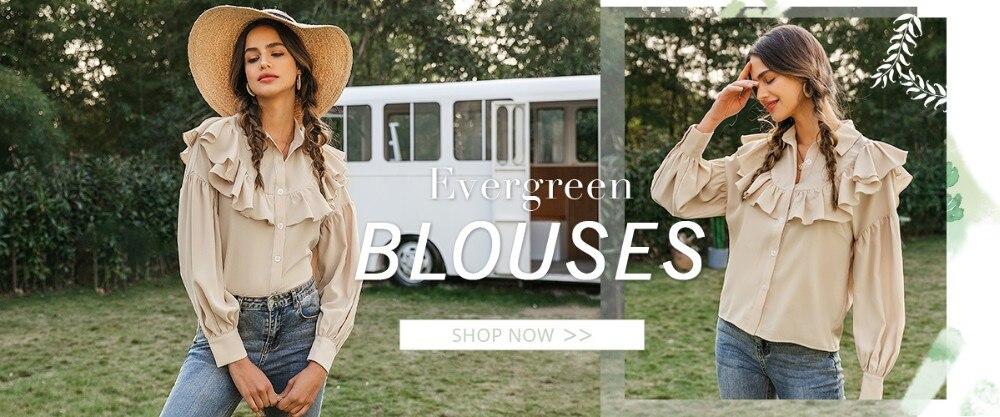 Evergreen-Blouses