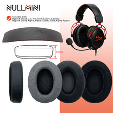 Null mini – oreillettes de remplacement pour casque Gaming, pour HyperX Cloud I/ II, Cloud Core,Cloud Silver,Cloud Alpha,Cloud Pro,Cloud X