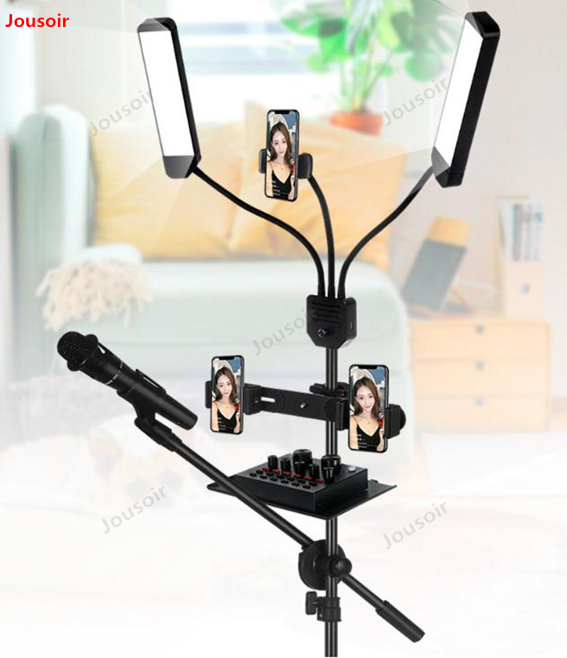 60W LED lumière photographique Stepless gradation maquillage beauté lumière sourcil tatouage lampe Studio vidéo lumière avec trépied CD50 T03 - 4