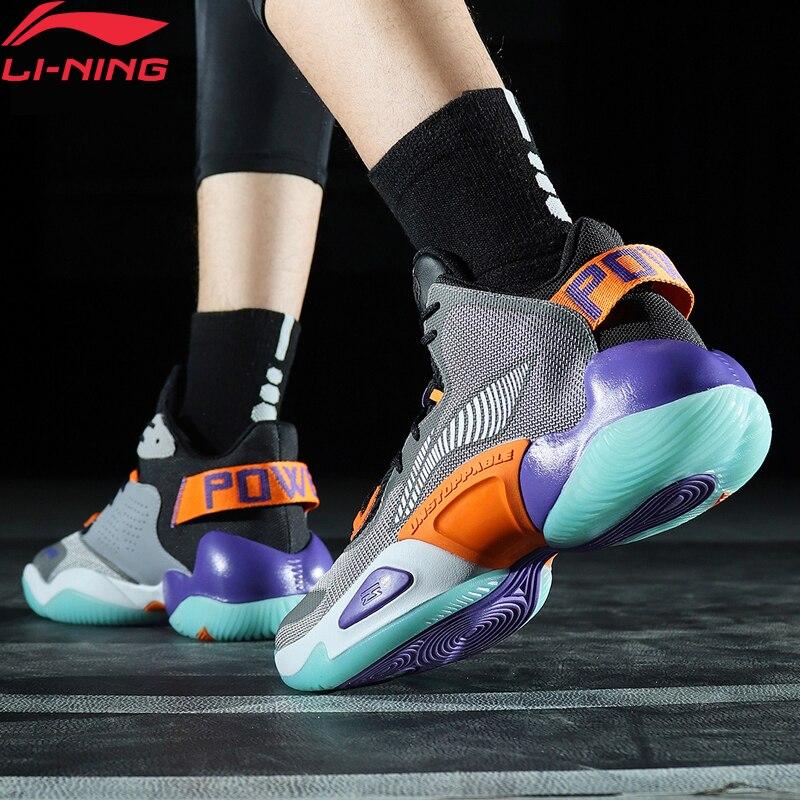 Li-Ning Men POWER VI PREMIUM Professional Basketball Shoes LiNing Li Ning CLOUD Sport Shoes Anti-Slip Sneakers ABAP067 XYL297