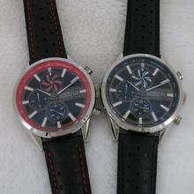 Мужские часы Лидирующий бренд, роскошные часы с хронографом, японские VK кварцевые часы с механизмом, стальные ветряные мельницы, мужские наручные часы A119