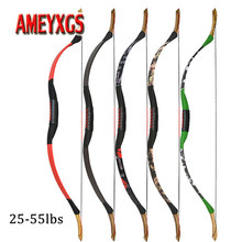 25-55lbs Traditional Archery Bow Epoxy Resin Overall Longbow 30-150m Range Shooting Training Recurve For Hunting Accessories