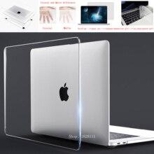 2020 크리스탈 노트북 케이스 맥북 터치 바 ID A2179 A1932 커버 맥 에어 13 A1466 프로 레티 나 11 12 13 15.4 15 16 쉘