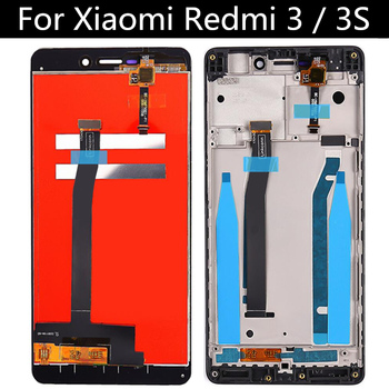 FOR Xiaomi Redmi 3 LCD Display Touch Screen Replacement Accessories for Xiaomi redmi 3S LCD
