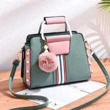 цена на Shoulder Bags For Women Luxury Handbags High Quality PU Leather Crossbody Bag Tide Fashion Shoulder Messenger Bag Handbag