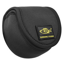 SF Neoprene Fly Fishing Reel Bag Pouch Cover Protective up to 5/6wt
