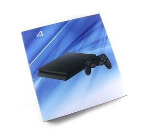 Image 3 - 1 مجموعة كاملة الإسكان الحال بالنسبة ل PS4 سليم برو وحدة التحكم أسود اللون ل PS4 1100 1000 1200 وحدة التحكم الإسكان الإسكان البيت شل لديها شعار