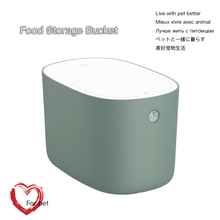 Pets Dog for Moisture Proof Seal Cat Food Storage Container Dry Dispenser Puppy Dog Feeder Portable Pet supplies cheap CN(Origin) 2 5L Universal Galaxy Gray Twilight Yellow Pale Cyan Green 38 2X24 7X23cm ABS PP TPR