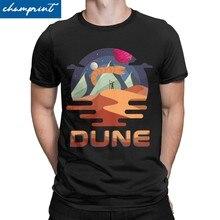 T-Shirt avec image du film rétro Dune pour homme, vêtement incroyable, avec image Arrakis sandver, idée de cadeau