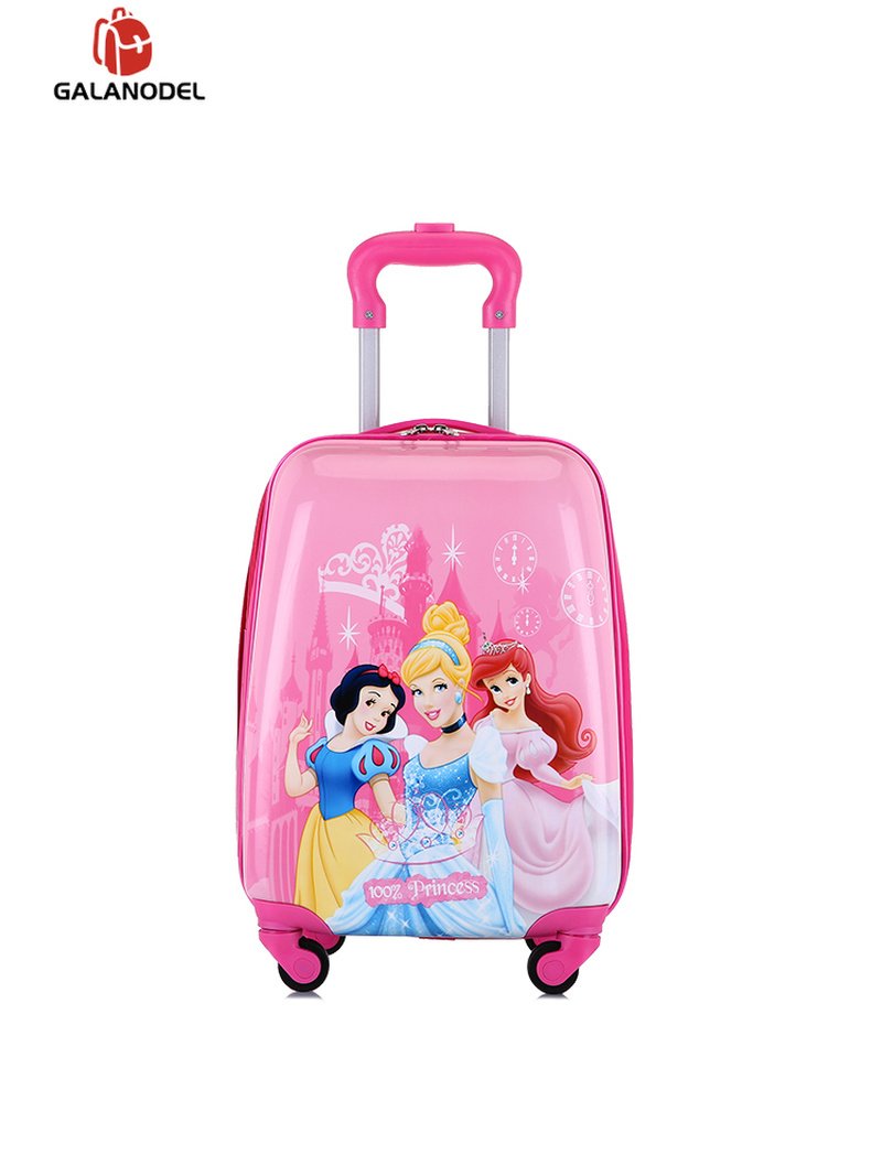 Children Travel Trolley Suitcase wheeled for kids Rolling luggage Bags Cartoon Bags Kids Baby Cute Child