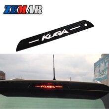 Xe Ô Tô Cao Cấp Phanh Trang Trí Đen Sợi Carbon Tường Cho Ford Kuga Thoát 2013 2014 Tự Động Phụ Kiện