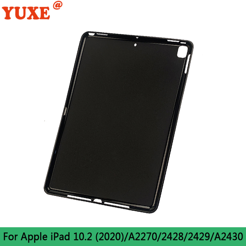 For iPad 10.2 (2020) White Tablet Case For iPad 10 2 inch 2019 2020 7th 8th Gen A2197 A2428 A2429 Cover