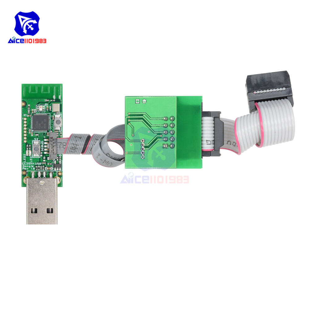 Discount×diymore Bluetooth Zigbee Emulator CC-Debugger Programmer Protocol Analysis Debugger CC2540