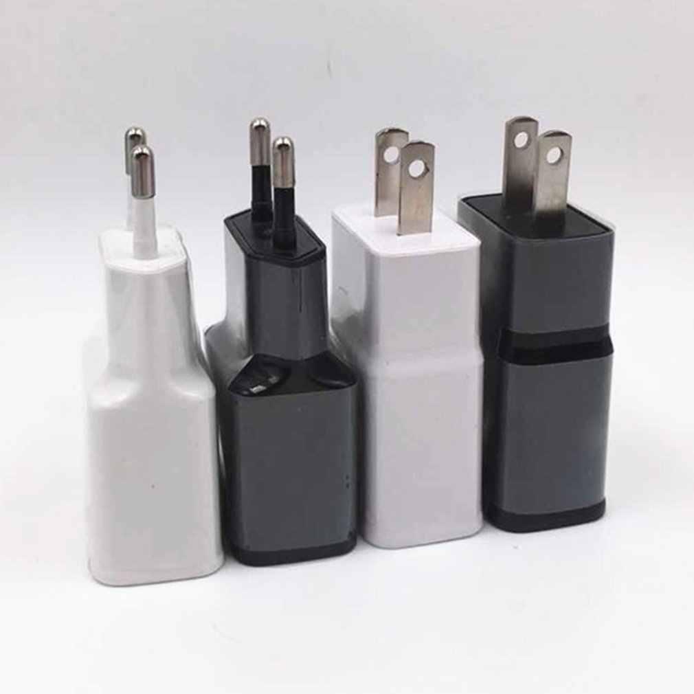 5v2a plugue da ue usb carregador do telefone móvel carregador rápido para iphone android huawei samsung carregador oneplus carregamento 5 v 1a para xiaomi