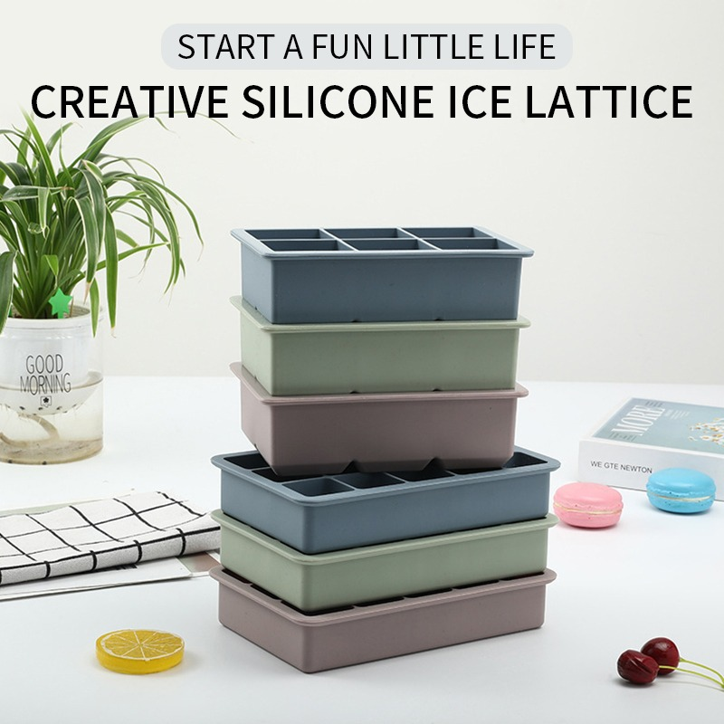 Giant Silicone Ice Cube Mold