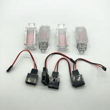 Light-Lamp Footwell/glove-Box Golf Passat LED Car Red A3 for A1 A2 A4 A5 A6 A7 A8 Q3
