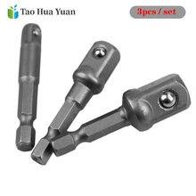3 шт шестигранный хвостовик конверсионный ключ адаптер из хромованадиевой