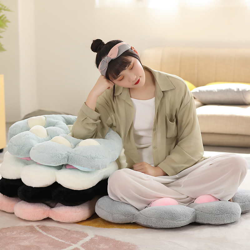 Cat Paw Seat Gaint Stuffed Plushie Soft Cute Animals Cushion Big Sofa Indoor Home Chair Pillow Gifts For Girls Children Just6F