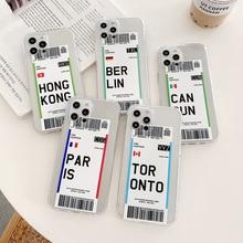 Seoul tokyo iphone用シリコンケース,7 8 6 s plus se 12 mini 11 pro xs max xr