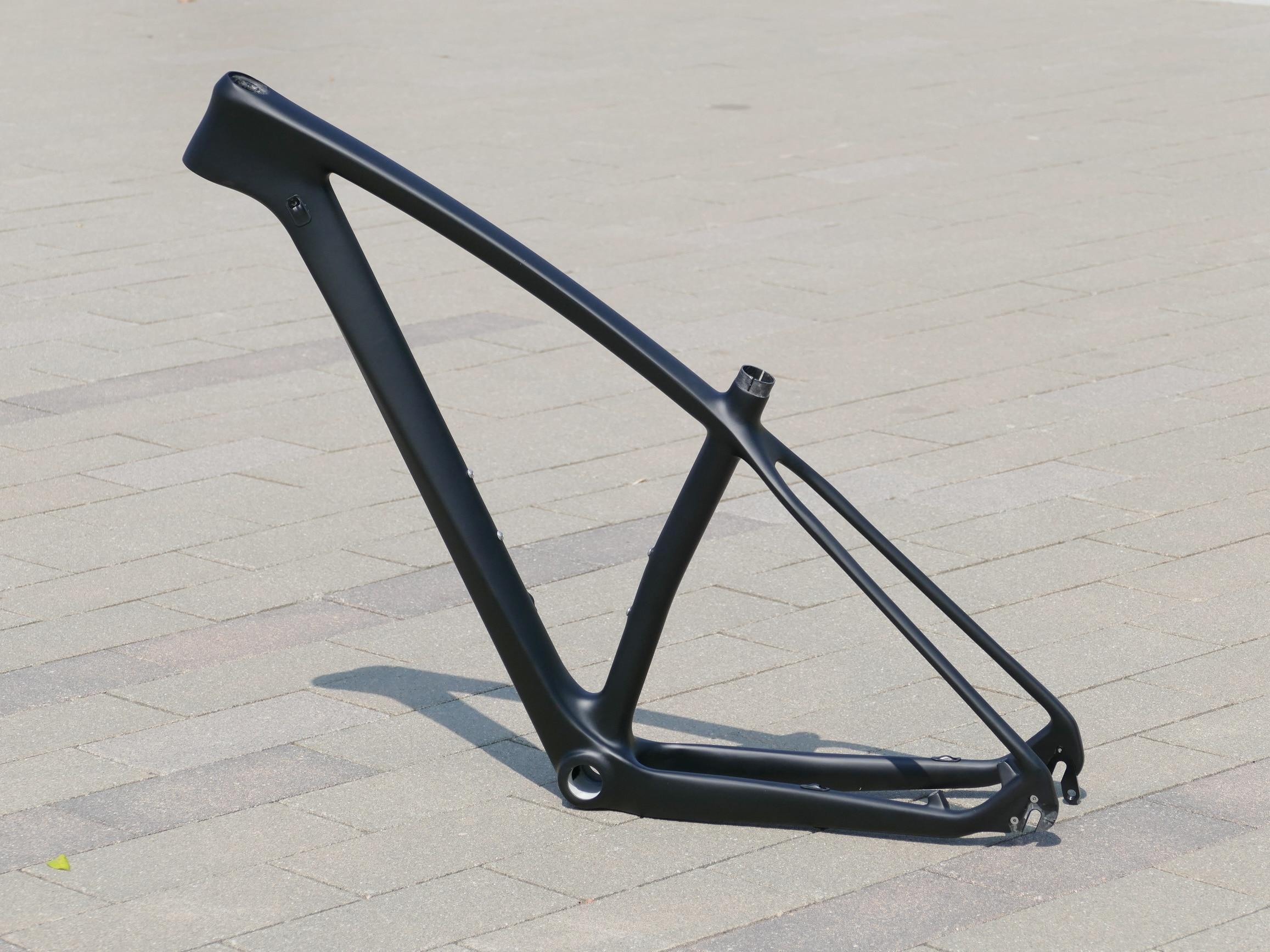 УГЛЕРОДНЫЙ руль UD матовый велосипедный велосипед Велоспорт 29ER горный велосипед MTB BSA / BB30 29er Рамка через мост 142*12 мм/Quick Release 135 мм