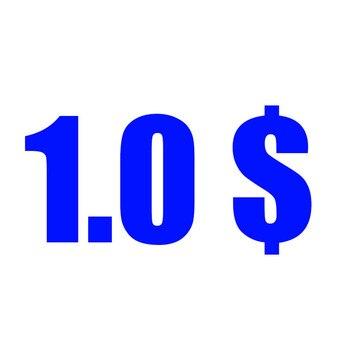 Extra Prijs 0.01 $ Alleen Voor Mijn Winkel, Het Is Niet Product, Niet Het Geld