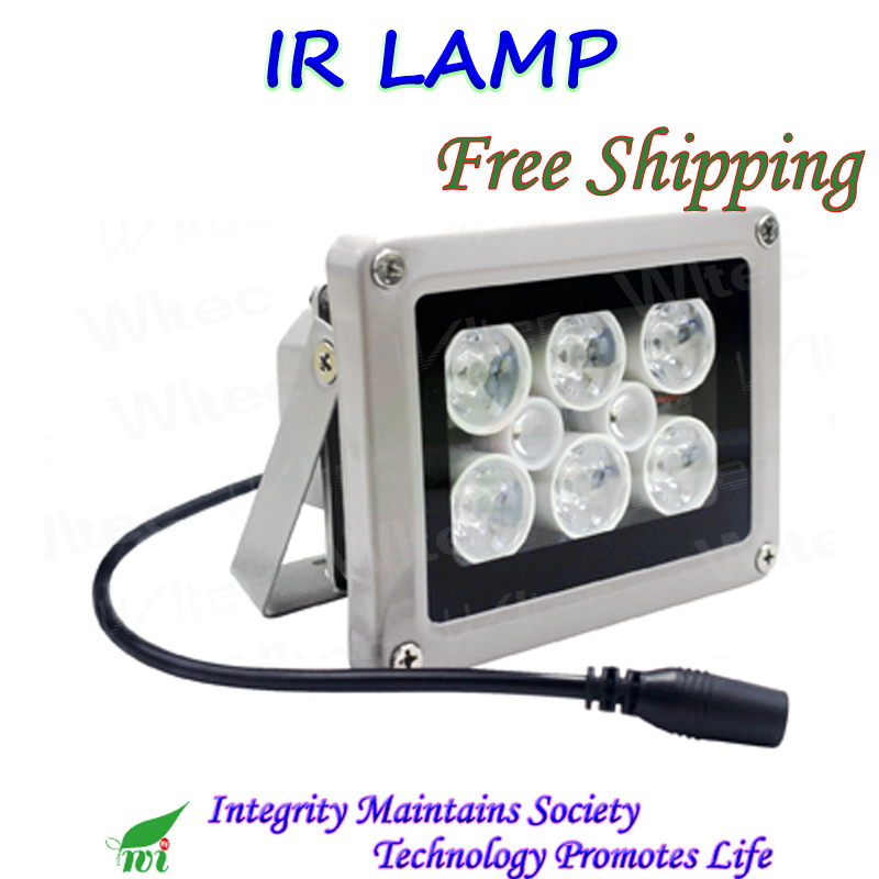 Water Proof 100,000 Hrs 8 Super IR LED Infrared Illuminator Light IR Max 50M Night Vision For CCTV Security Surveillance Cameras