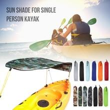 Folding Kayak Canopy Kayak-Accessories Boat Sunshade Rainproof Single-Person Awning