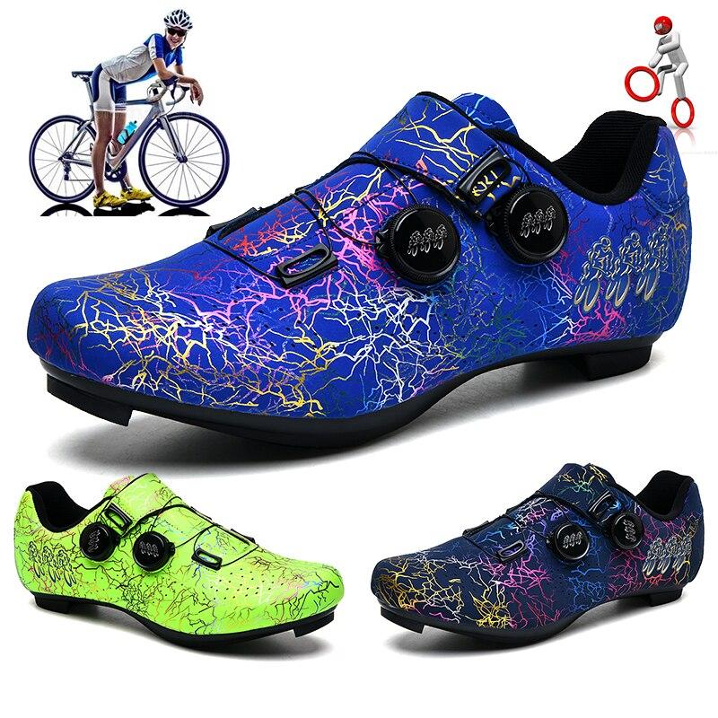 Кроссовки для горных велосипедов, обувь на плоской подошве, для скоростных велосипедов