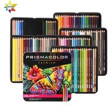 Eua original artista sanford prismacolor lápis 24 36 48 72 132 150 cor lapis de cor sanford prismacolor lápis fino conjunto