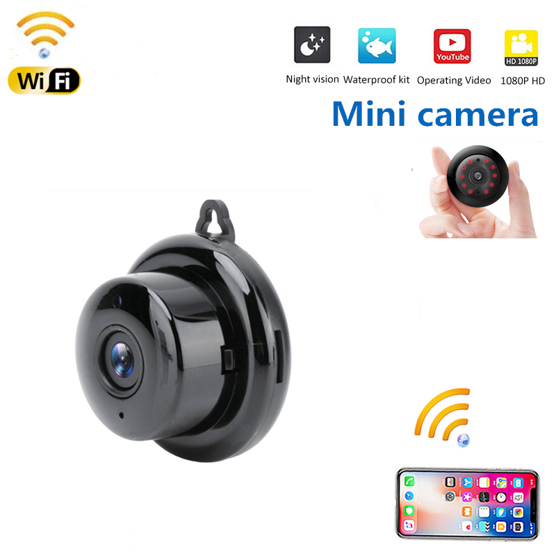 WIFI Mini Camera 1080P 960P P2P Camcorder Wireless Baby Monitor CCTV Mini Cam Infrared Night Vision Home Security Motion Detect