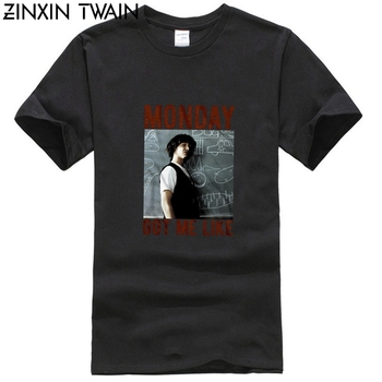 BILL Ted's excellent adventure'S lunedMI PIACE MEN'S T SHIRT Keanu Reeves image