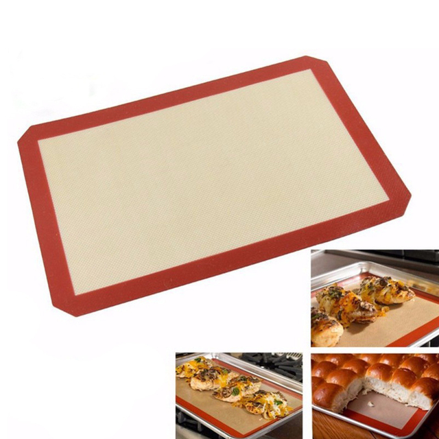 1PCs Reusable High Temperature Resistant Non-Stick BBQ Grill Mat Pad Baking Sheet Outdoor Picnic Cooking Barbecue Oven Tools