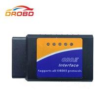 OBD2 ELM327 V1.5 Mini obsługuje wszystkie narzędzia diagnostyczne polecenia AT ELM327 V 1.5 Bluetooth 3.0 dla androida skaner samochodowy czytnik kodów
