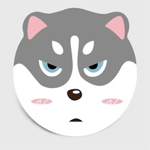 Cute Cartoon Round Carpet Living Room Decoration Dog Cat Non Slip Area Rugs Chair Cushion Children Baby Bedroom Play Game Mats недорого