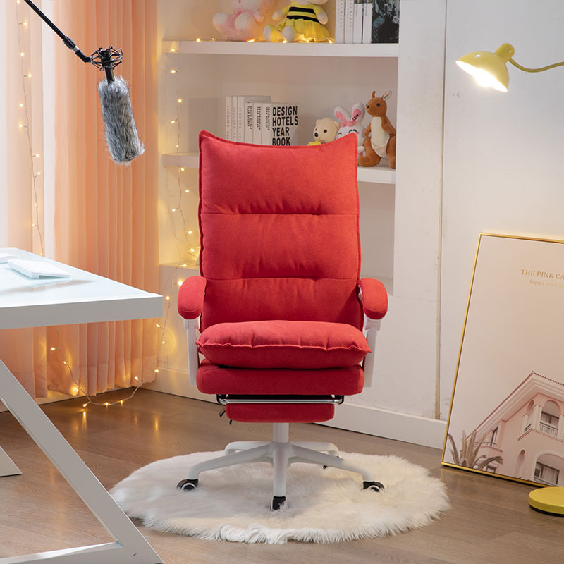 Gaming Chair Lying Lifting Boss Chair Youtuber Chair Computer Chair Pink Office Chair Footrest Live Video Chair Free Shipping