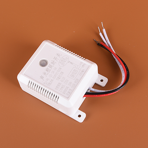 Smart Switch Voice Sound Light Sensor Switch Time Delay Intelligent Auto On Off Accessories For Corridor Stair Warehouse