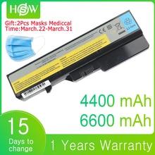 6600mAh Bateria de 4400mAh Bateria Para Laptop Lenovo G560 G570 G470 G460 G465 G475 G565 G575 G770 Z460 V360A E47G Z370 L10M6F21