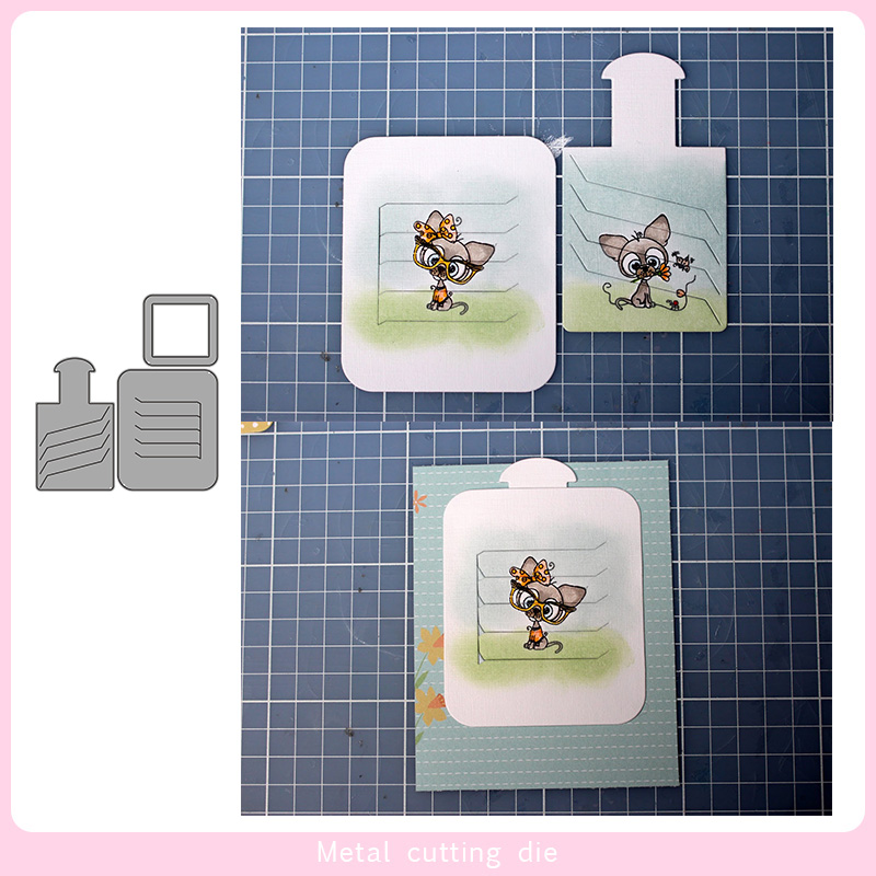 Magic Photo Frame Metal Cutting Dies For DIY Scrapbooking Photo Album Decorative Embossing PaperCard Crafts Die Cut 2020