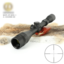 купить Leupold 4-12x40 Riflescope Tactical Optical Rifle Scope Sniper Hunting Rifle Scopes Long Range Airsoft Rifle Scope онлайн