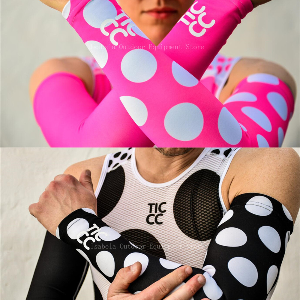1pairs Breathable Quick Dry Uv Protection Running Arm Sleeves Basketball Elbow Pad Fitness Armguards Sports Cycling Arm Warmers