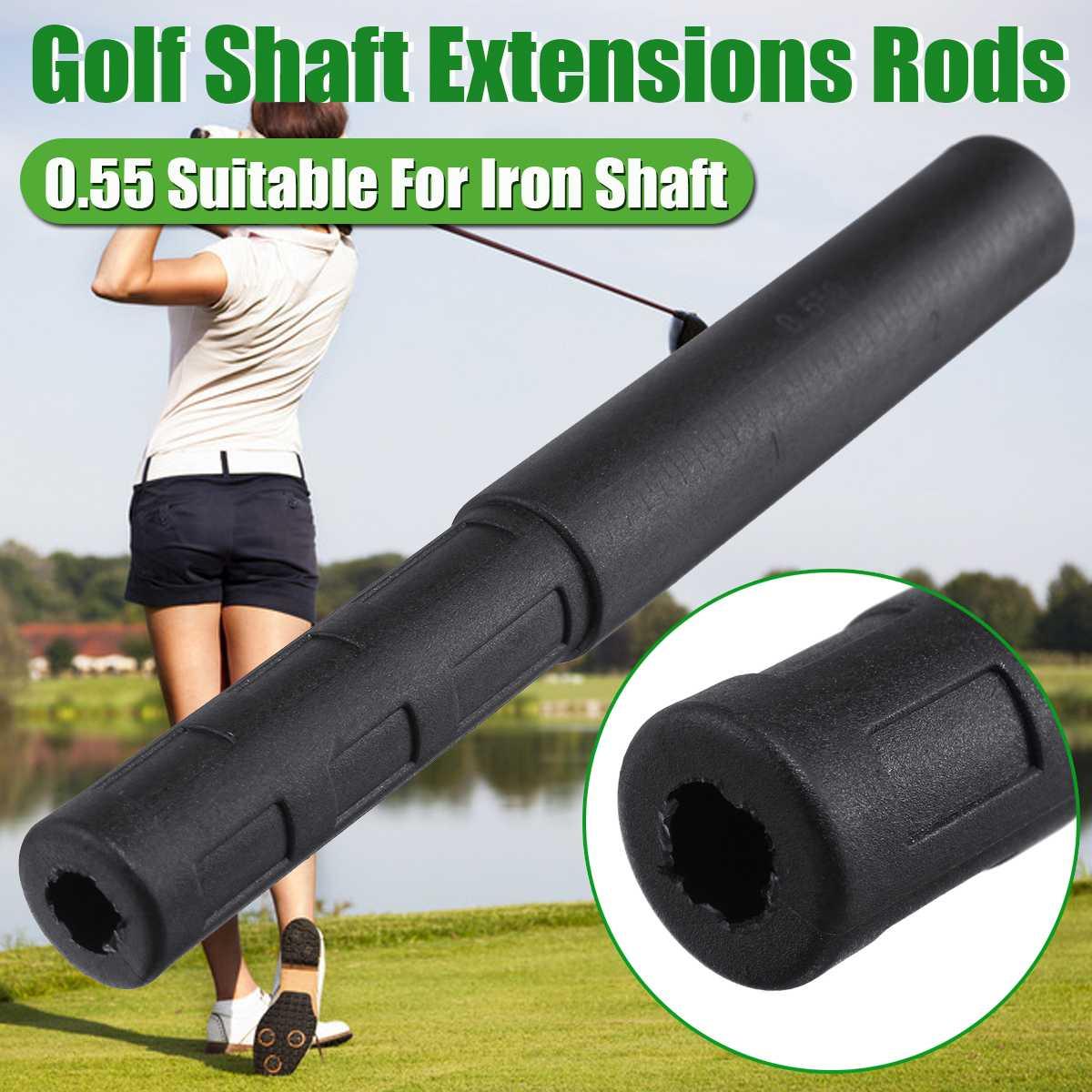 5pcs Golf Club Carbon Fiber Extension Rods Kit Butt Extender Stick For Iron / Graphite Shaft Putter Golf Accessories