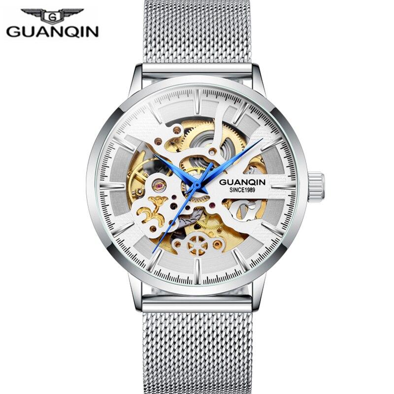 Skeleton Tourbillon Watch Sport Clock Automatic Men Luxury Watches Man Mechanical Watch Waterproof relogio masculino