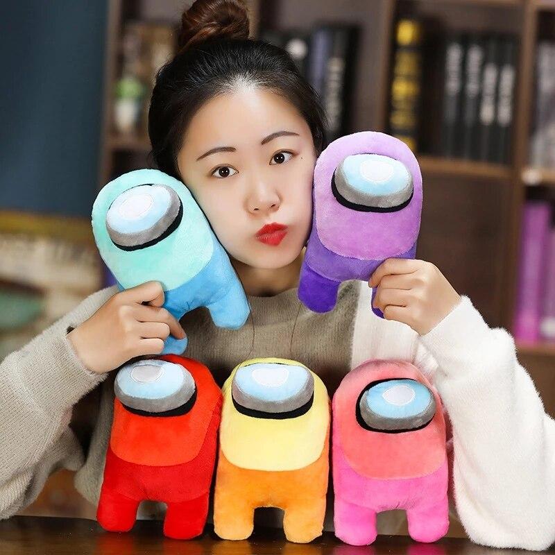 1 шт. 20/30 см между нами плюшевые игрушки животных игры мягкие куклы Kawaii рисунок игрушки, детские мягкие игрушки Brinquedos Рождественский подарок