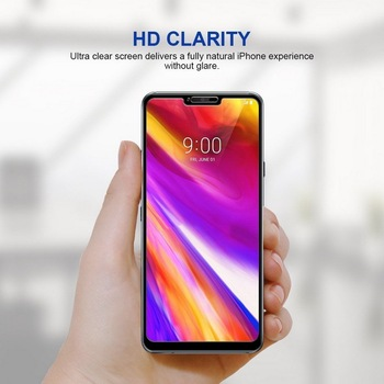 Full Cover Tempered Glass Screen Protector For LG G7 G6 K50 K10 2018 K40 K12 Plus Tempered Screen Protector on LG Stylo 4 5 Q60