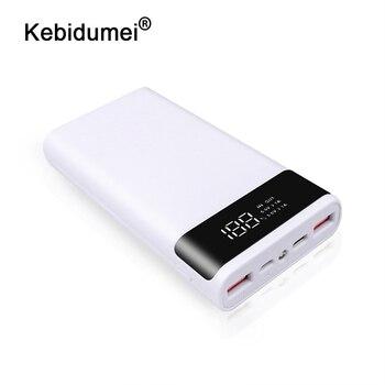 Kebidumei 2 цвета Портативный внешний 5V DIY 6*18650 чехол Корпус внешнего аккумулятора коробка для хранения без батареи| |   | АлиЭкспресс