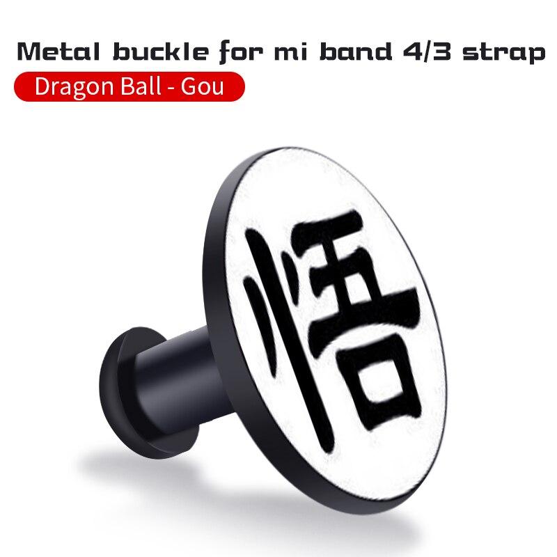 Для Xiaomi Mi Band 4/3 ремешок Металлическая пряжка силиконовый браслет аксессуары miband 3 браслет Miband 4 ремешок для часов М - Цвет: Wukong
