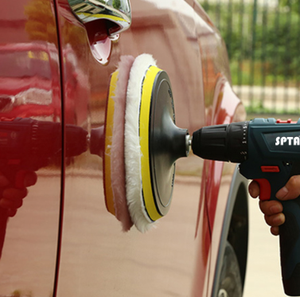 Image 4 - SPTA Car Beauty Waxing Polishing Discs Auto Car Polishing Pad Kit for Car Polisher With M14 ThreaCar Polishing Tools Accessories