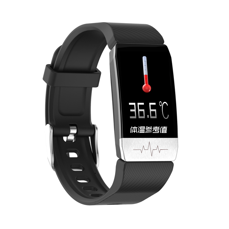 MAFAM T1 Smart Watch Band With Temperature Measure ECG Heart Rate Blood Pressure Monitor Weather Forecast Drinking Remind