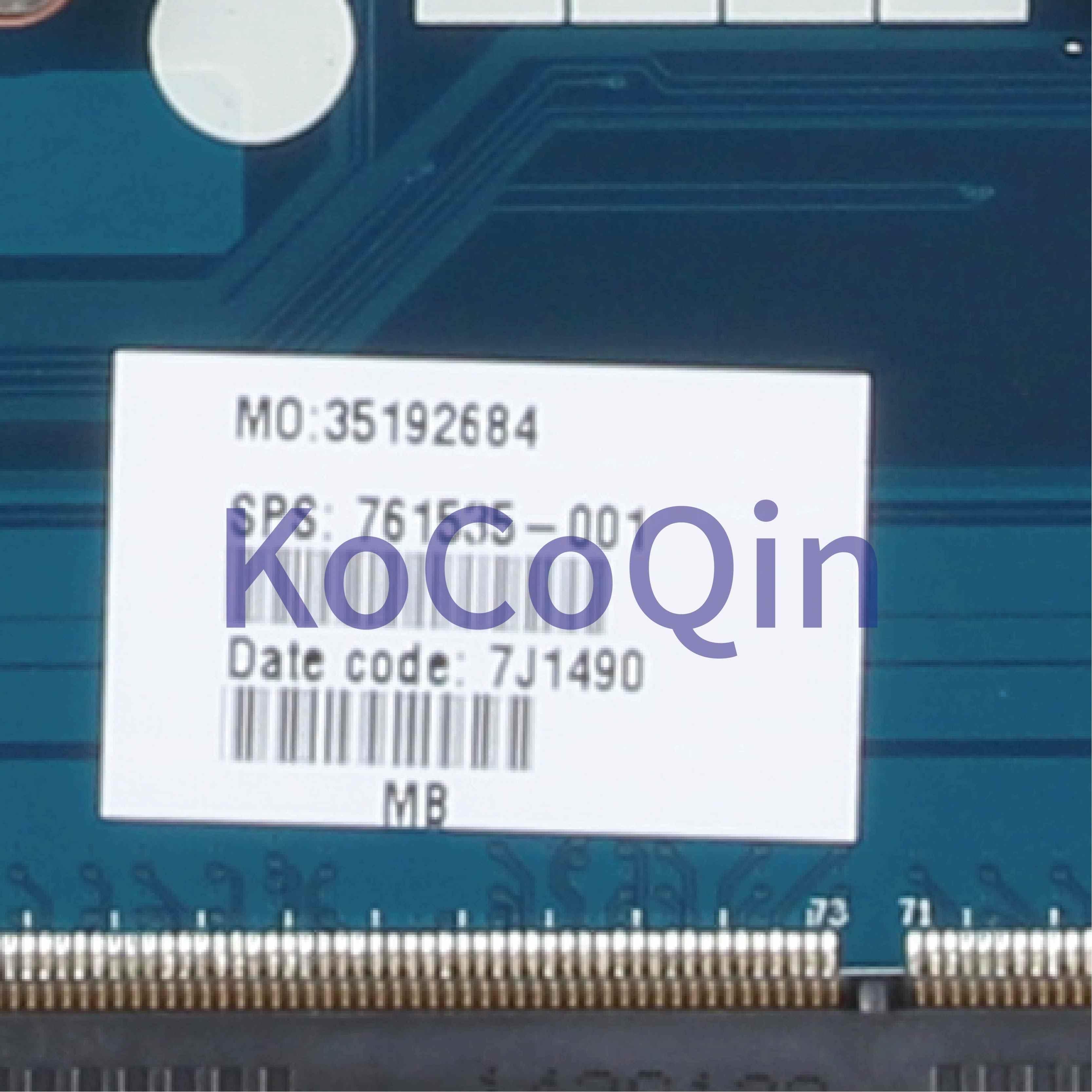 KoCoQin האם מחשב נייד עבור HP Pavillion 15-R 250 G3 Core I5-4210U SR1EF Mainboard ZS050 LA-A992P 761535-001 761535- 501